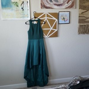 Emerald Green Eliza J Gown